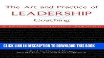 MOBI The Art and Practice of Leadership Coaching: 50 Top Executive Coaches Reveal Their Secrets