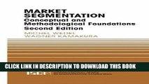 [FREE] Ebook Market Segmentation: Conceptual and Methodological Foundations (International Series
