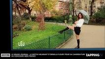 Le Grand Journal- Ornella Fleury: La miss météo se moque des candidates du concours Miss France