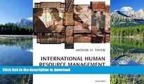 FAVORITE BOOK  International Human Resource Management: A Multinational Company Perspective FULL