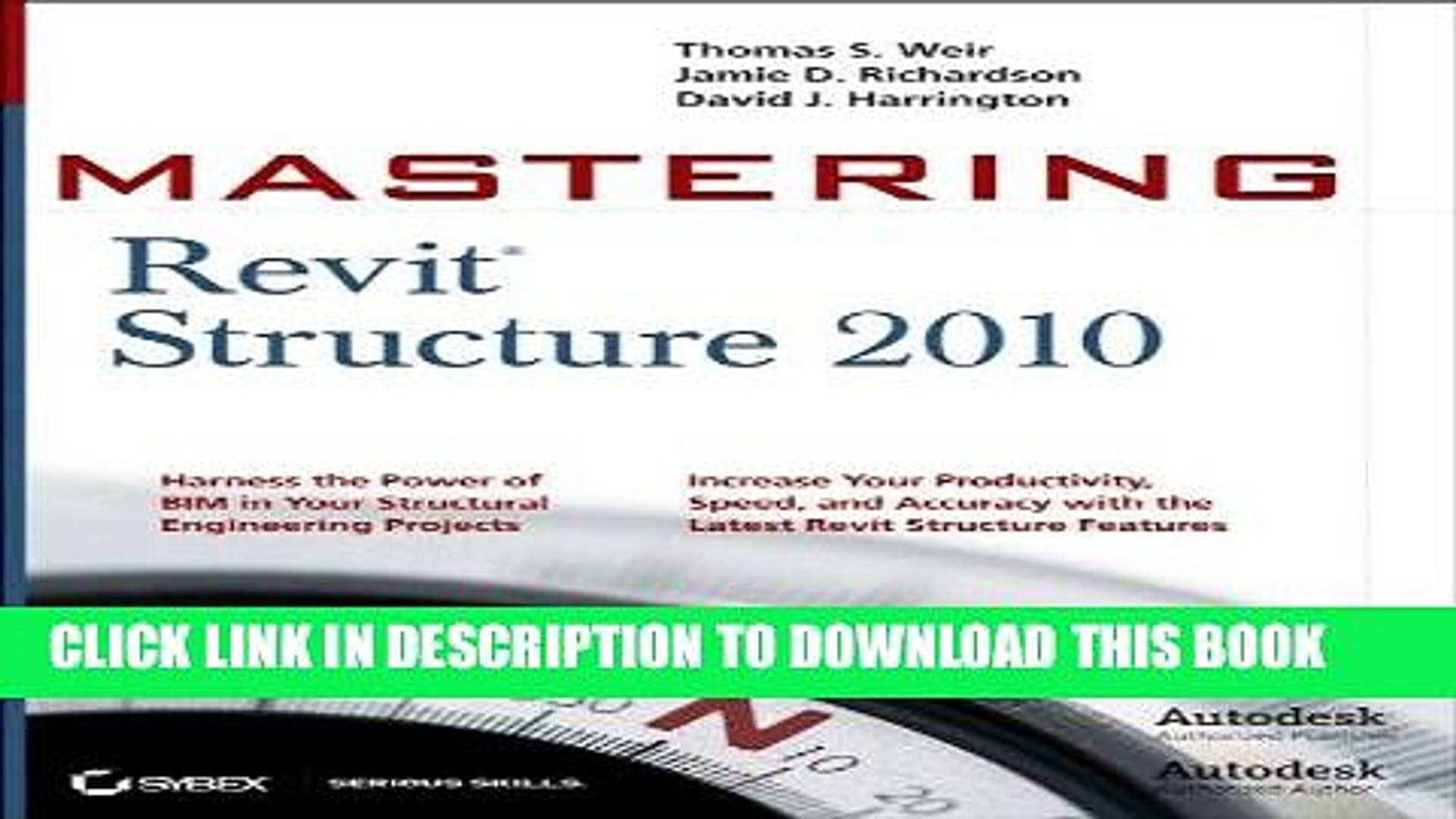 Mastering Revit Structure 2010 has been added