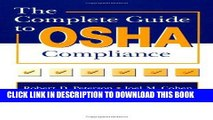 [PDF] The Complete Guide to OSHA Compliance Popular Online