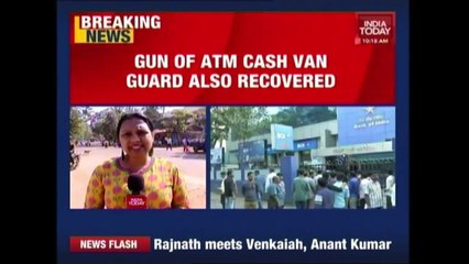 Looted ATM Van Found Abandoned With Rs 45 Lakh In Bangalore