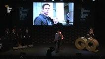 Gerard Butler, Prix Hugo Boss   Les Hommes de l'année 2016   GQ