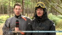 Visages du sport :  Yann et Franck le Vaillant, char à voile