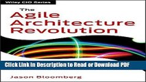 PDF The Agile Architecture Revolution: How Cloud Computing, REST-Based SOA, and Mobile Computing
