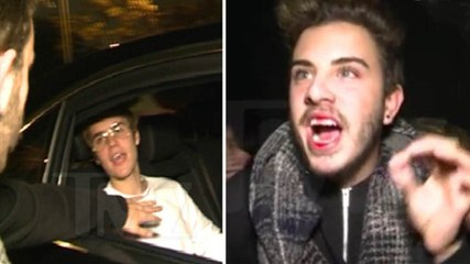 JUSTIN BIEBER PUNCHES FAN