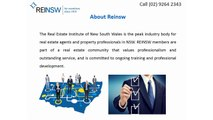 Online Real Estate Courses - Real Estate Institute of New South Wales