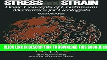 Read PDF] Stress and Strain: Basic Concepts of Continuum Mechanics