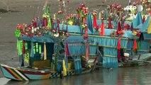 صيد الاسماك بالمولدات الكهربائية يلحق اضرارا كبيرة في باكستان