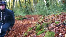 Descente infernale au cœur de la forêt de Cantal !