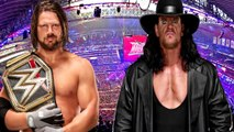 A.J. Styles vs The Undertaker at WrestleMania? CM Punk's Next MMA Fight | Wrestling Report