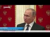 Vladimir Poutine affiche sa préférence pour François Fillon