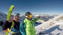 Adrénaline - Ski : Test it, la websérie qui part à la découverte de nouveaux sports extrêmes