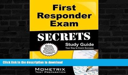 read first responder exam secrets study guide fr test review for the first responder exam book