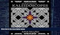 Buy NOW ZenMaster Coloring Books Kaleidoscopes: Intricate Black Background Kaleidoscope Designs
