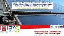 Introduction - Rencontres Qualité Efficience ARS ADEME 2016