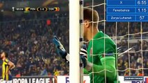 Simon Kjær Goal HD - Fenerbahçe 2-0 Zorya - 24.11.2016 HD