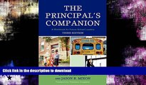 READ  The Principal s Companion: A Workbook for Future School Leaders FULL ONLINE