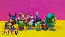 Disney Pixar Toys Collection Monster University Toys Frozen Princess Anna Elsa Маша и Медведь Toys