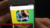critical ops credits hack - 100% working [Unlimited Credits]