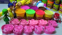 PLAY DOH Peppa Pig Surprise Eggs toys 2016 - Funny LEARN COLORS FOR KIDS - Play doh toys