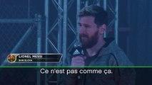 """Barça - Messi : """"Le Barça ne dépend pas d'un seul joueur"""""""