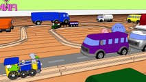 Learn Colors with Crayons, Trains & Trucks, Ice Cream Cones and More