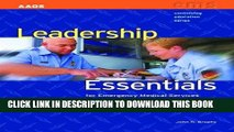 [READ] Kindle Leadership Essentials For Emergency Medical Services (Continuing Education) PDF