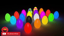 Learn Colors with Surprise Eggs - Learn to Count Numbers with 3D Surprise Eggs Train Glowing