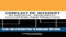 [READ] Kindle Conflict of Interest in Medical Research, Education, and Practice Free Download