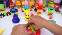 Learn Colors Play Doh Surprise Eggs - colours for kids - Finger Family song for