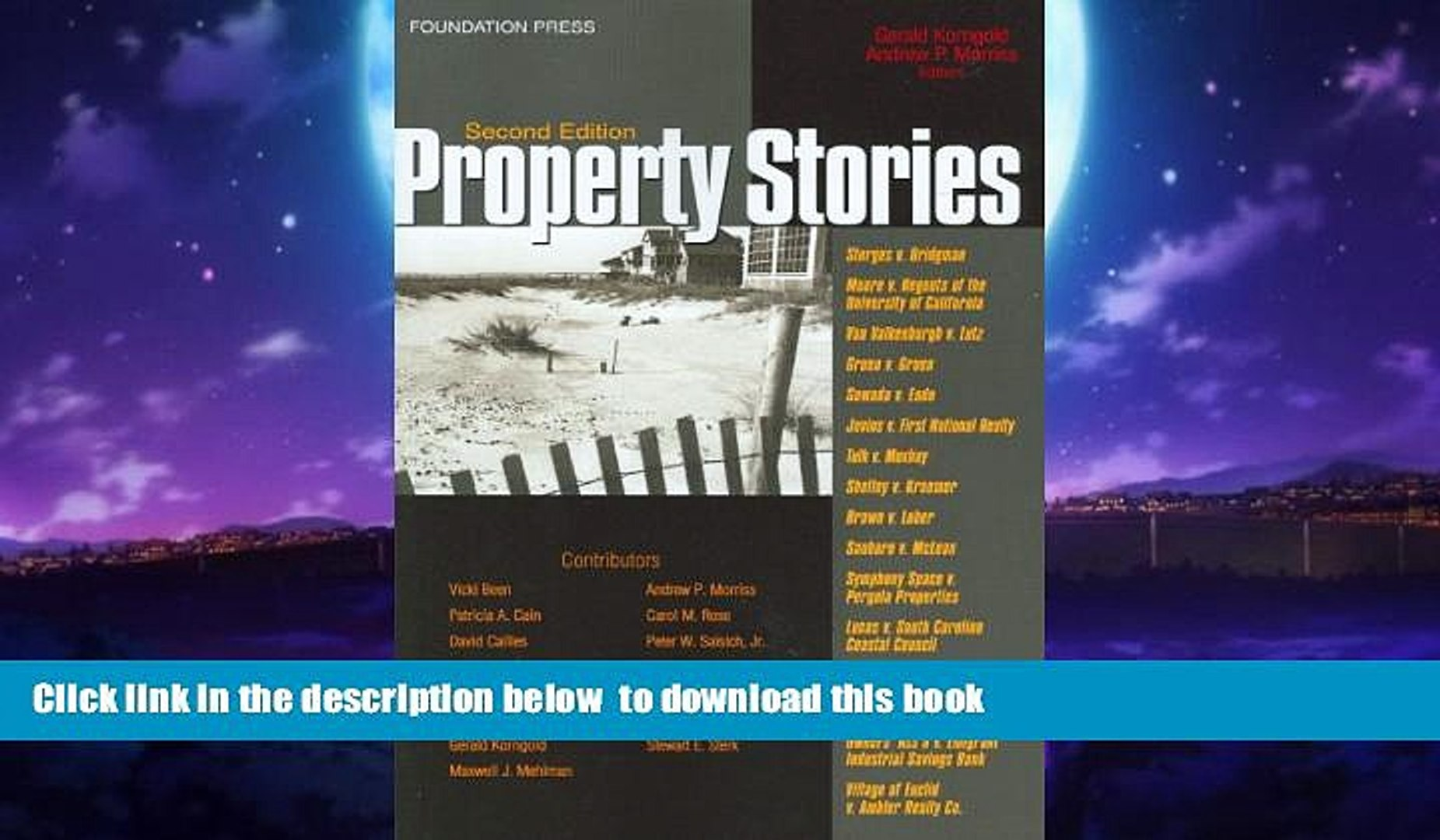 Best book  Property Stories (Law Stories) BOOOK ONLINE