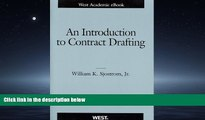 READ book  An Introduction to Contract Drafting (American Casebook Series) #A#  FREE BOOOK ONLINE