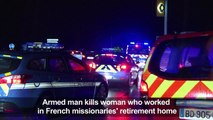 Hooded attacker kills woman in French missionaries' home