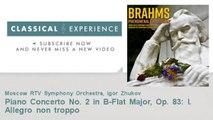 Johannes Brahms : Piano Concerto No. 2 in B-Flat Major, Op. 83: I. Allegro non troppo