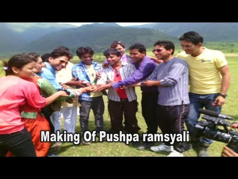 Exclusive Making of Pushpa Ramsyali | Prem Sing Gusain | Meena Rana | Govind Kandari