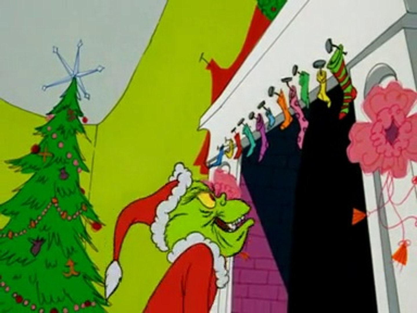 The Grinch Who Stole Christmas Cartoon.Dr Seuss How The Grinch Stole Christmas
