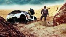 Red bull présente ses pilotes pour le Dakar 2016 : Carlos Sainz, Stéphane Peterhansel, Cyril Despres et Sébastien Loeb