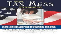 KINDLE Annual Tax Mess Organizer For Nail Techs, Manicurists   Salon Owners: Help for