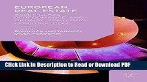 PDF European Real Estate: Asset Class Performance and Optimal Portfolio Construction Ebook Online