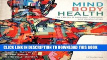 [FREE] EPUB Mind/Body Health: The Effects of Attitudes, Emotions, and Relationships (5th Edition)
