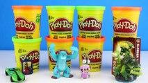 PJ Masks Play Doh Surprise Eggs Compilation - Gekko Catboy Owlette PJMasks Toys