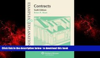 Read book  Examples   Explanations: Contracts, Sixth Edition BOOOK ONLINE