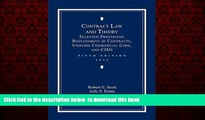 Read book  Contract Law and Theory: Selected Provisions: Restatement of Contracts and Uniform