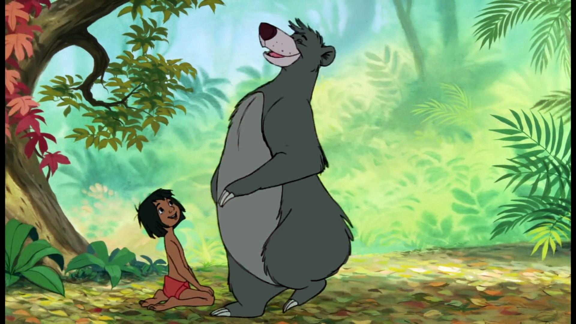 Le Livre De La Jungle Il En Faut Peu Pour Etre Heureux Baloo