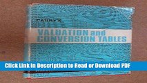 Download Valuation Tables and Conversion Tables Free Books