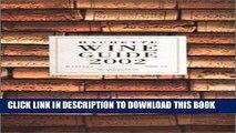 MOBI Hachette Wine Guide 2002: The French Wine Bible PDF Ebook