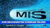 [PDF Kindle] Essentials of MIS (11th Edition) Ebook Download