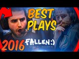 FALLEN BEST PLAYS 2016 EDITION! [INSANE PLAYS, VAC SHOTS, ACEs & MORE] #CSGO
